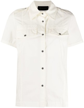 Mr & Mrs Italy Short-Sleeve Fitted Shirt