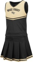 Colosseum Girls Youth Black Wake Forest Demon Deacons Pinky Cheer Dress