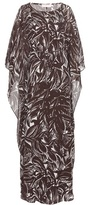 Tory Burch Printed silk georgette dress