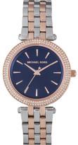 Michael Kors Mini Darci Metallic 2 Tone Watch