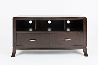 "Red Barrel Studioâ® Jorma Transitional Wooden Media Console Table Red Barrel StudioA Size: 26"" H x 50"" W x 18"" D"