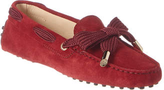 Tod's TodS Gommino Suede Moccasin
