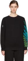 Marcelo Burlon County of Milan Black Jer Sweatshirt
