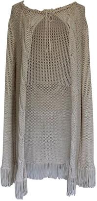 Lorena Antoniazzi Beige Cotton Knitwear for Women