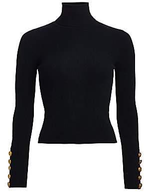 A.L.C. Women's Desi Rib-Knit Turtleneck Sweater
