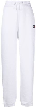 Tommy Jeans Logo-Embroidered Cotton Track Pants
