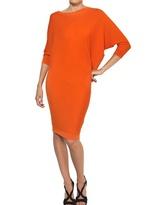 Alexander McQueen Extra Fine Merino Wool Dress