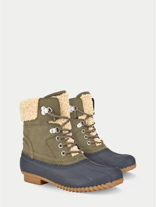 Tommy Hilfiger Faux Shearling Duck Boot