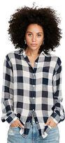 Denim & Supply Ralph Lauren Rl Boyfriend Checked Shirt