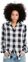 Denim & Supply Ralph Lauren RL Boyfriend Checked Shirt