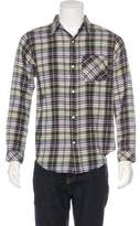 Current/Elliott Plaid Flannel Shirt w/ Tags