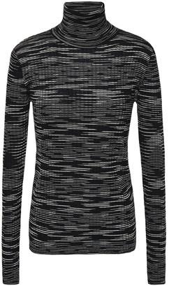M Missoni Ribbed Wool -blend Turtelneck Sweater