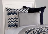 Ethan Allen Navy Cable Knit Euro Sham
