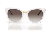 Thierry Lasry Affinity Sunglasses in White