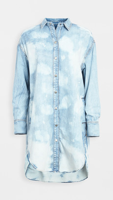 Free People Tuscan Denim Tunic