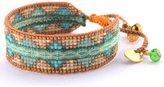 Mishky Beaded Cuff Adjustable-Size Bracelet