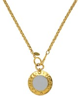Chanel Gold Mirror Necklace