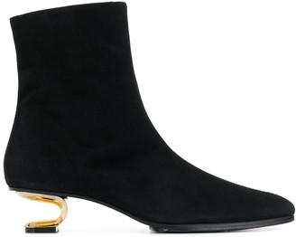 Nicole Saldaña Heel Boots