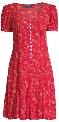 Ralph Lauren Printed Short-Sleeve Dress