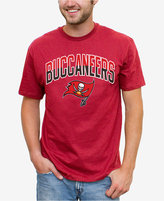 Junk Food Clothing Men's Tampa Bay Buccaneers Split Arch T-Shirt