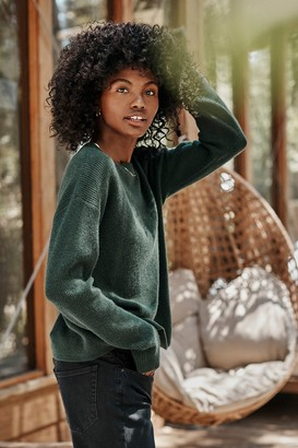 Velvet by Graham & Spencer Michaela Cashmere Crew Neck Sweater