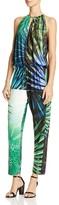 Natori Palm Print Jumpsuit