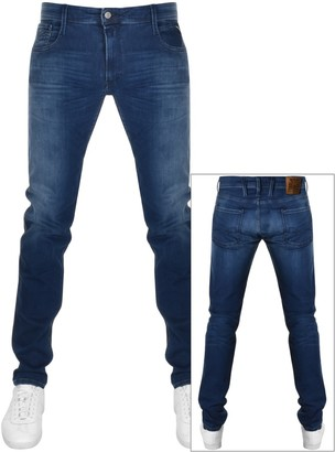 Replay Slim Fit Anbass Jeans Blue