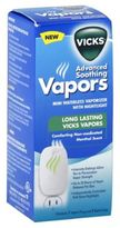 Vicks Advanced Soothing Vapors Waterless Vaporizer with 4-Count Refills