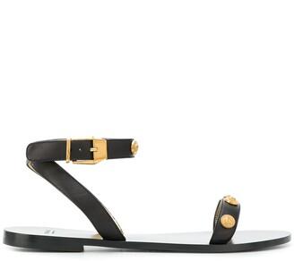 Versace Studded Strap Sandals