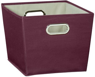 Honey-Can-Do Purple Medium Storage Bin