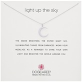 Dogeared Light Up the Sky Thin Crescent Moon Necklace Necklace