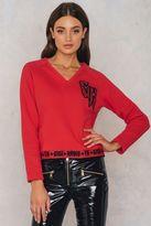 Tommy Hilfiger Gigi Hadid V-Neck Sweatshirt