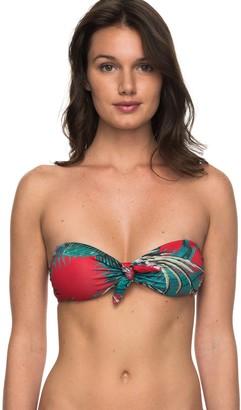 Roxy Women's Cuba Gang Bandeau Bikini Top
