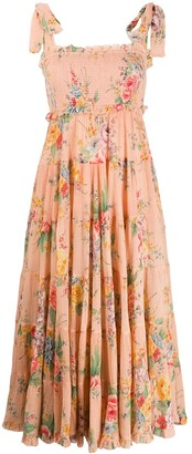 Zimmermann Zinnia tiered day dress