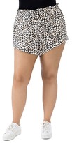 Thumbnail for your product : Baobab Collection Donna Animal Print French Terry Shorts