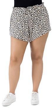 Baobab Collection Donna Animal Print French Terry Shorts