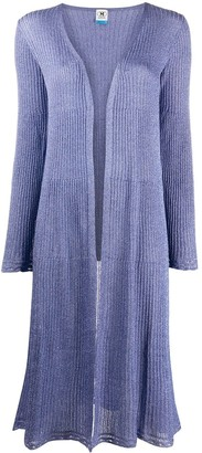 M Missoni Ribbed-Knit Cardigan