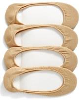 Hue Women's 4-Pack Liner Socks