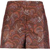 Sandro Printed Jacquard Shorts