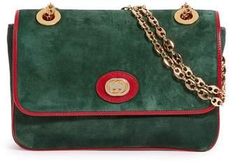 Gucci Small Suede Shoulder Bag