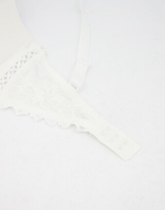 Pour Moi? Pour Moi fiore t shirt bra in ivory