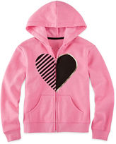 JCPenney Xersion Fleece Full-Zip Hoodie - Girls 7-16 and Plus