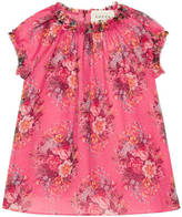 Gucci Baby floral print silk dress