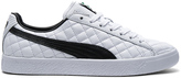Puma Select Clyde Dressed Part Deux FM in Puma White & Puma Black