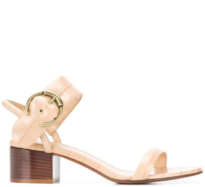 d993f7e188 Chloé Block Heel Women's Sandals - ShopStyle