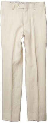 LAUREN Ralph Lauren Kids Linen Suit Pants (Big Kids) (Beige) Boy's Casual Pants