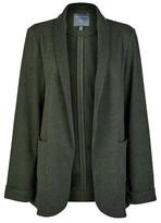 Dorothy Perkins Womens Tall Khaki Jersey Jacket