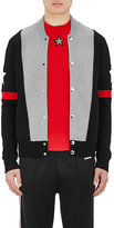 Givenchy Men's Colorblocked Cotton-Blend Sweater Jacket