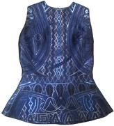 Mary Katrantzou Blue Silk Top for Women