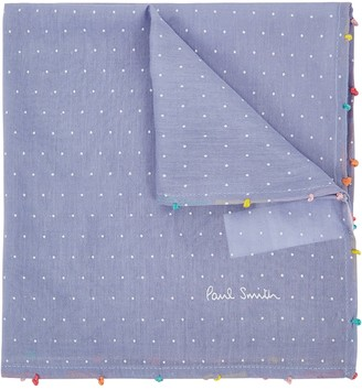 Paul Smith Cotton-blend Pocket Square
